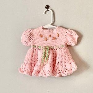 Hand Made Knit Dress